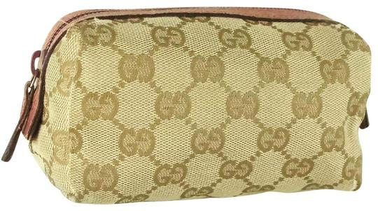 Preload https://img-static.tradesy.com/item/25816409/gucci-beige-pink-pouch-cosmetic-bag-0-1-540-540.jpg