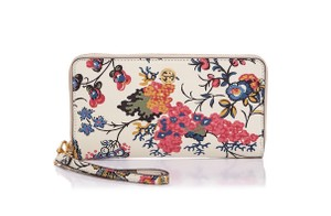 Tory Burch Wristlet in floral