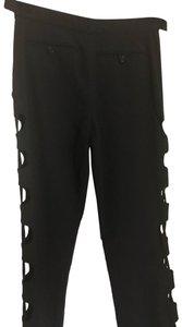 Made In Italy Skinny Pants Black