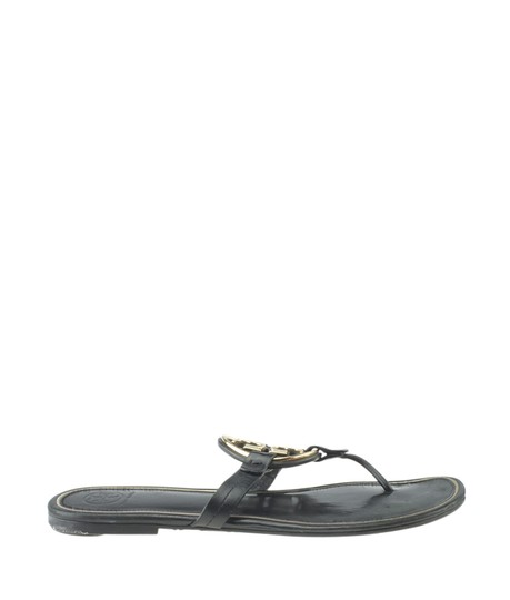 Tory Burch Leather Black Sandals Image 2
