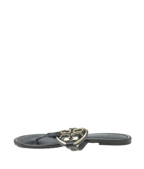Tory Burch Leather Black Sandals Image 3