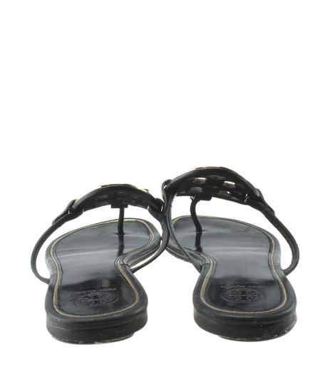 Tory Burch Leather Black Sandals Image 5