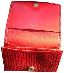Asprey Wristlet in Red