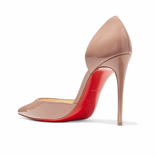 Christian Louboutin Beige (Nude) Patent Leather Simple