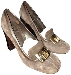 Tory Burch Olive Brown Pumps