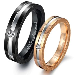 2pc Matching His & Hers Wedding Band Set Free Shipping