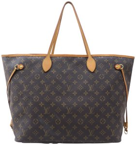 Louis Vuitton Lv Neverfull Monogram Gm Shoulder Bag