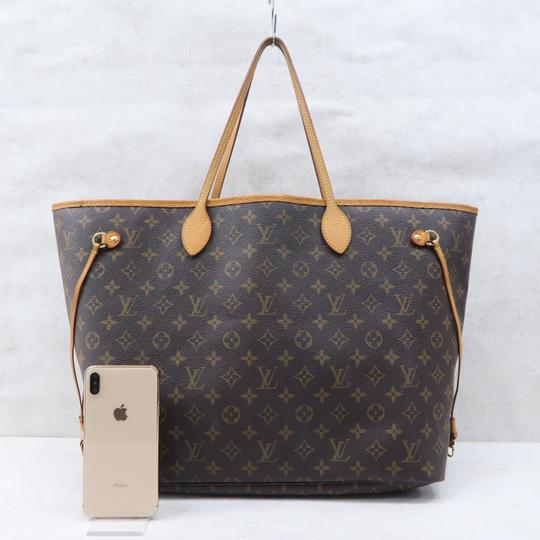 Louis Vuitton Lv Neverfull Monogram Gm Shoulder Bag Image 1