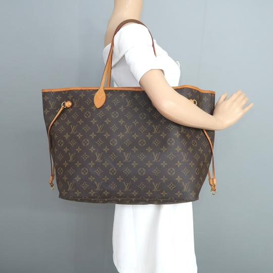 Louis Vuitton Lv Neverfull Monogram Gm Shoulder Bag Image 11