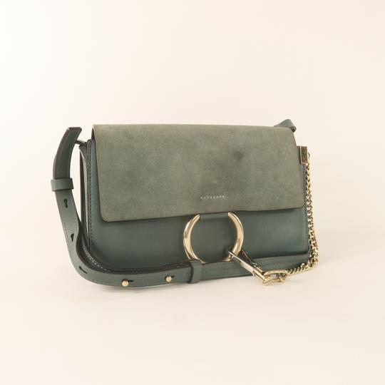 Chloé Calfskin Leather Faye Shoulder Bag Image 3