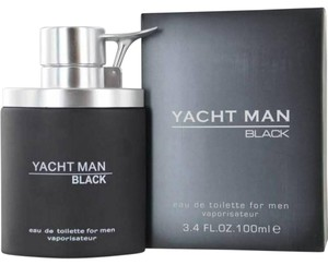 Myrurgia YACHT MAN CHOCOLATE AND BLACK by Myrurgia EDT 3.3 / 3.4 oz New in Box