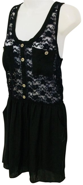 Item - Black By Short Casual Dress Size 12 (L)