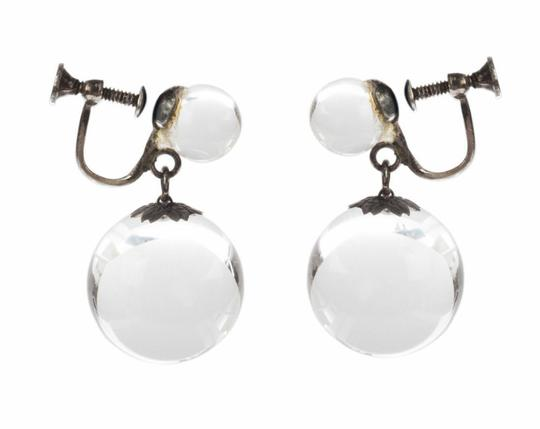 Preload https://img-static.tradesy.com/item/25819159/silver-art-deco-pools-of-light-dangle-ball-earrings-0-0-540-540.jpg