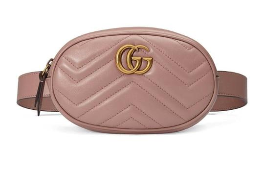 Preload https://img-static.tradesy.com/item/25819201/gucci-gg-marmont-belt-new-fanny-pack-chevron-nude-matelasse-leather-cross-body-bag-0-0-540-540.jpg
