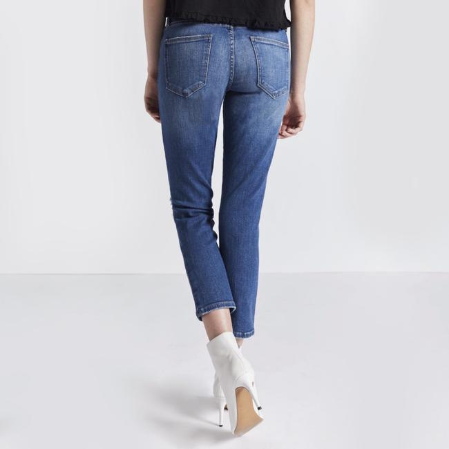 Current/Elliott Straight Leg Jeans-Distressed Image 1
