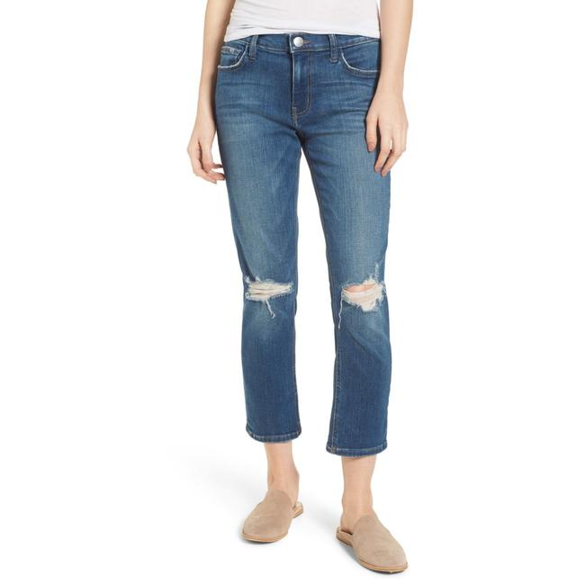 Current/Elliott Straight Leg Jeans-Distressed Image 11