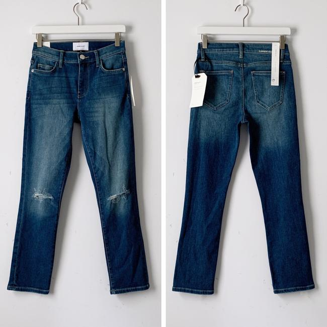 Current/Elliott Straight Leg Jeans-Distressed Image 2