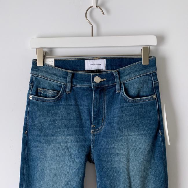 Current/Elliott Straight Leg Jeans-Distressed Image 5