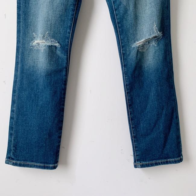 Current/Elliott Straight Leg Jeans-Distressed Image 6
