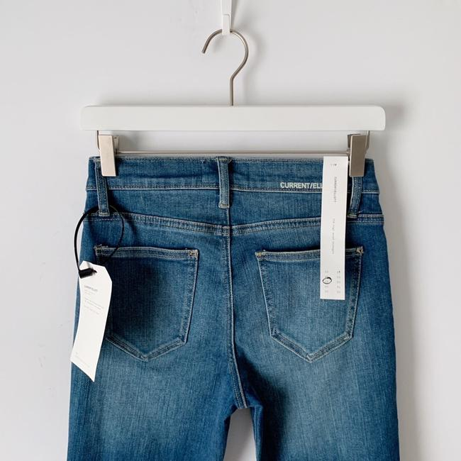 Current/Elliott Straight Leg Jeans-Distressed Image 8
