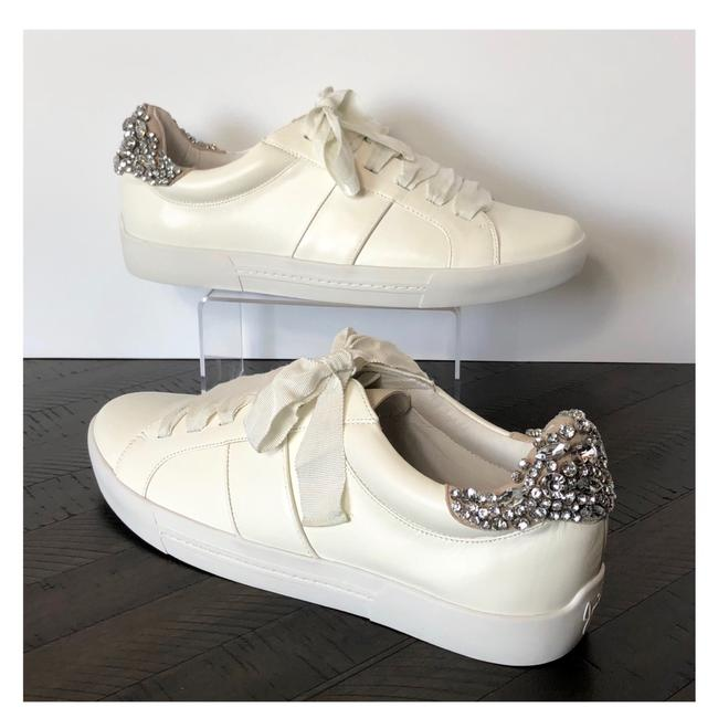 Item - Off White/Cream Darena Jewel Embellished Fashion Sneakers Size US 10.5 Regular (M, B)