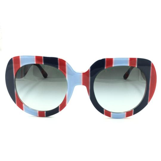 Preload https://img-static.tradesy.com/item/25819463/dolce-and-gabbana-red-blue-dolce-and-gabbana-round-gray-gradient-dg4191p-sunglasses-0-0-540-540.jpg