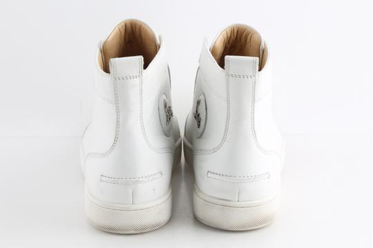 Christian Louboutin White Louis Leather Sneakers Shoes Image 3