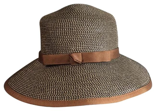 Item - Brown and Tan Packable Summer Upf 50 Sun Hat