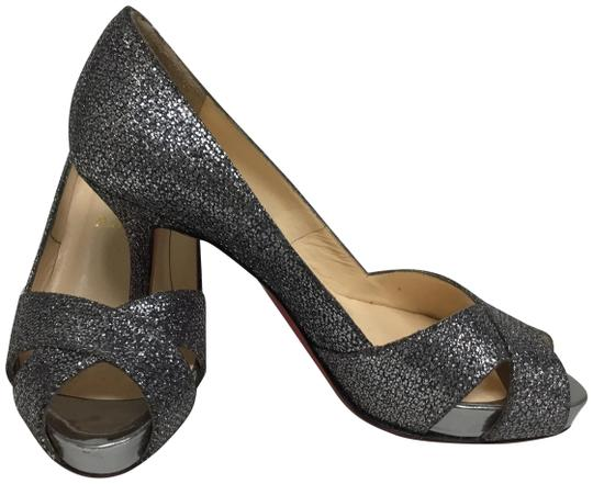 Christian Louboutin Pewter Pumps Image 0