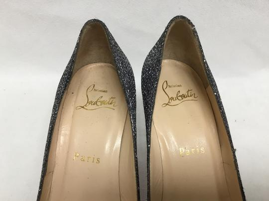 Christian Louboutin Pewter Pumps Image 2