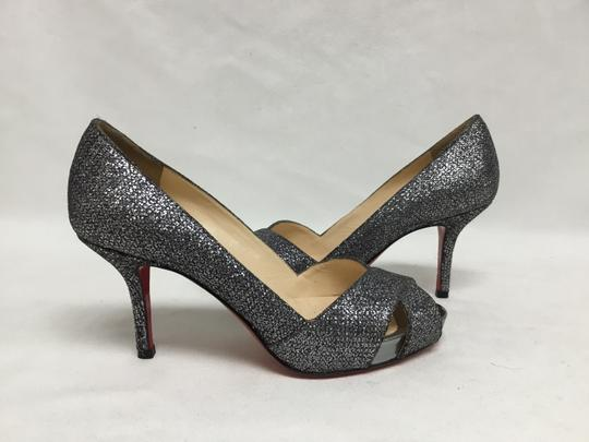 Christian Louboutin Pewter Pumps Image 3