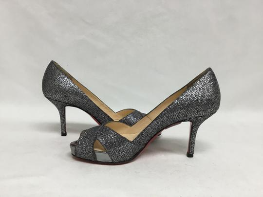 Christian Louboutin Pewter Pumps Image 4