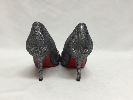 Christian Louboutin Pewter Pumps Image 5