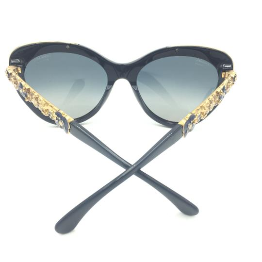 Chanel Butterfly Navy Blooming Flower Polarized Sunglasses 5356 1462/K4 Image 6