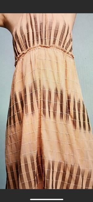 Peach Maxi Dress by Anthropologie Image 5