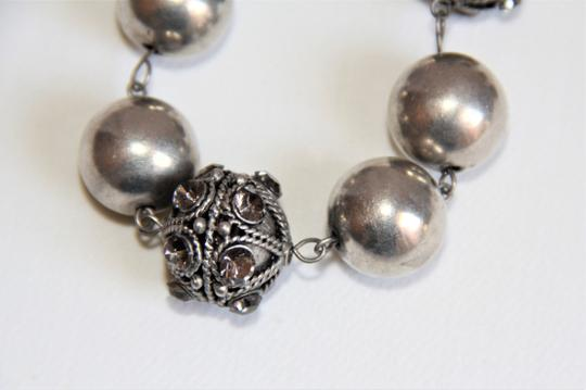 Unbranded Bali Ornate Patinaed Silver Pewter Earrings and Image 3