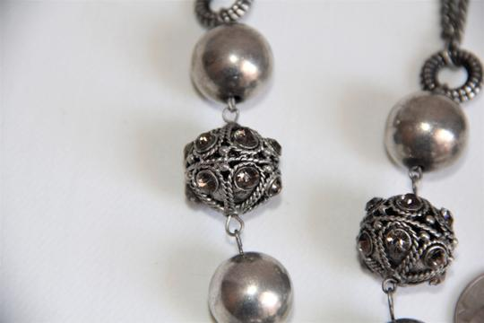 Unbranded Bali Ornate Patinaed Silver Pewter Earrings and Image 9