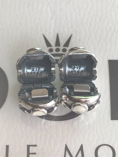 PANDORA Authentic Darling Daisies Clips Charms Set of Two Image 2