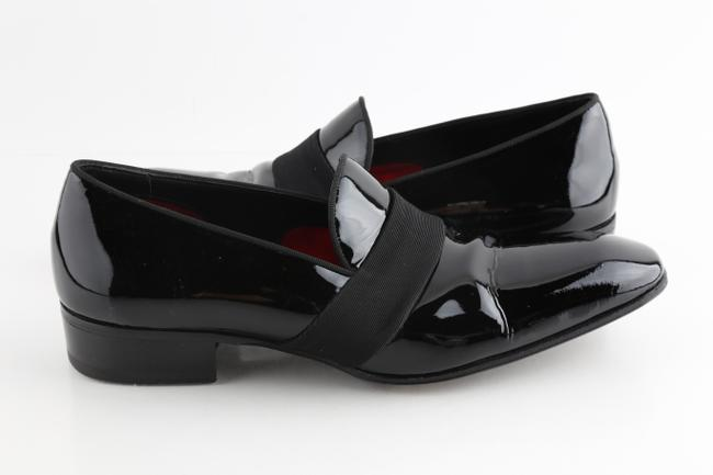 Item - Black Gianni Evening Loafers Shoes