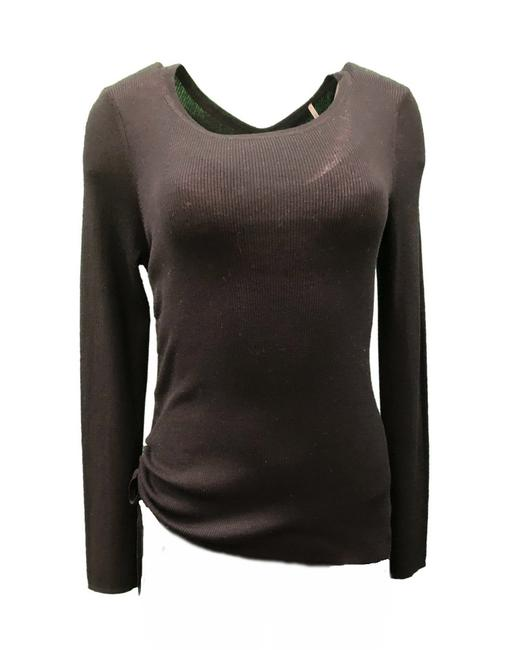 Preload https://img-static.tradesy.com/item/25819716/margaret-o-leary-ribbed-knit-black-sweater-0-0-650-650.jpg
