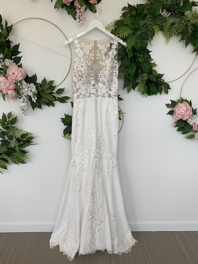 Preload https://img-static.tradesy.com/item/25819739/pronovias-off-white-crepe-lace-and-tulle-alcyone-sexy-wedding-dress-size-8-m-0-0-540-540.jpg