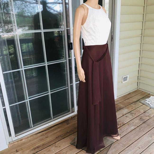 ivory brown Maxi Dress by Mori Lee Image 1