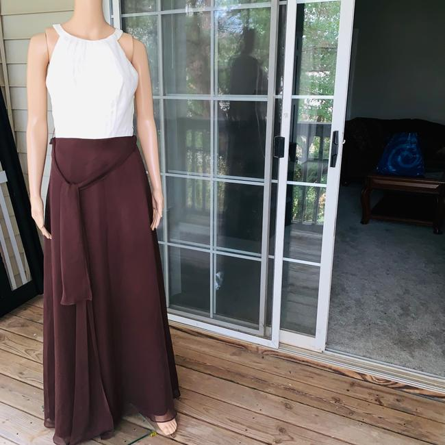 ivory brown Maxi Dress by Mori Lee Image 2