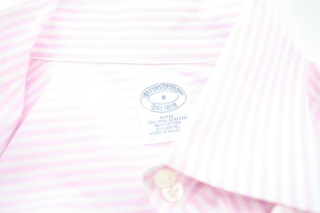 Brooks Brothers Button Down Shirt pink Image 2