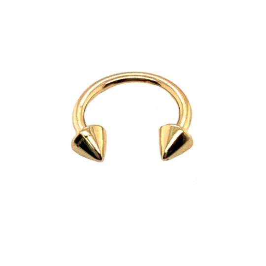 other (2157) 14K Gold Nose Ring Image 1