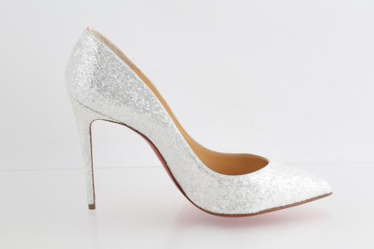 Christian Louboutin White Pumps Image 5