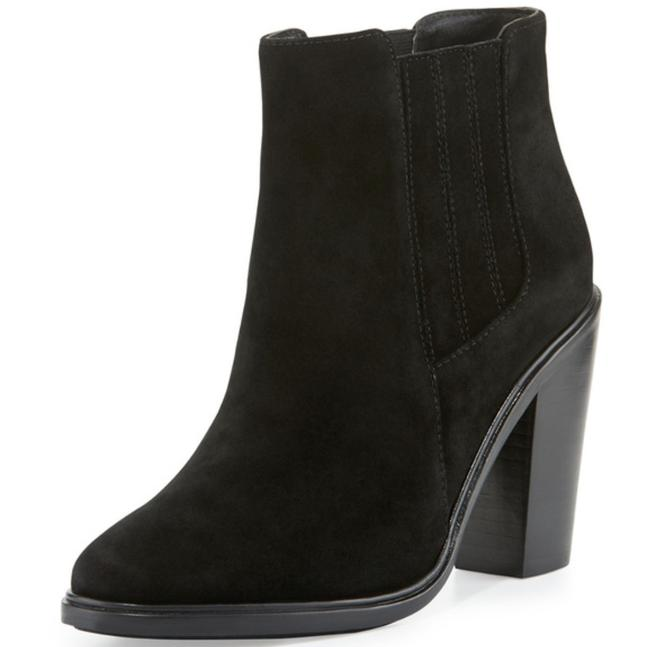 Joie Black Cloee Suede Ankle Boots/Booties Size US 8 Regular (M, B) Joie Black Cloee Suede Ankle Boots/Booties Size US 8 Regular (M, B) Image 1
