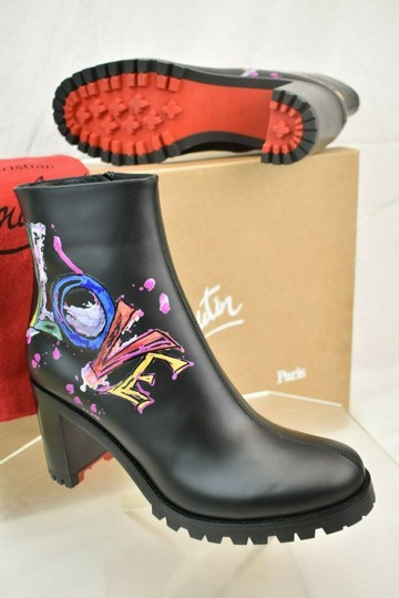 Christian Louboutin Black Boots Image 10