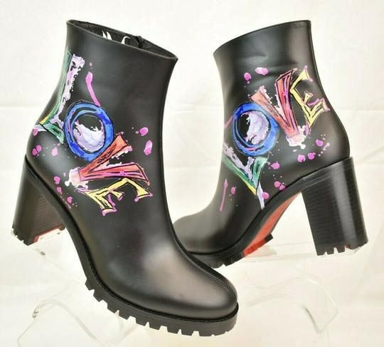 Christian Louboutin Black Boots Image 9
