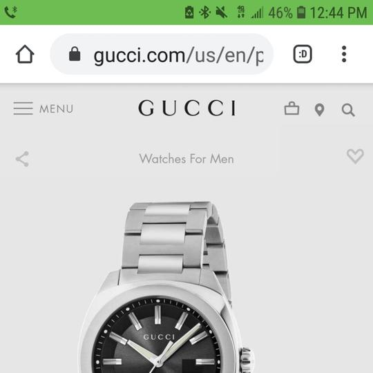 Gucci Gucci Stainless Steel Men's Watch Image 9